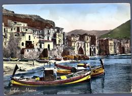 °°° Cartolina - Cefalù Marina Viaggiata (l) °°° - Palermo