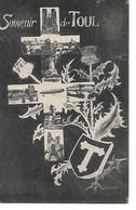 54 - TOUL - Souvenir  (Croix De Lorraine Et Petites Vues) - Toul