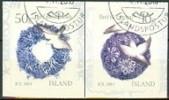 IJSLAND 2010 Kerstzegels Serie GB-USED. - Gebraucht