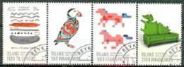 IJSLAND 2013 IJslands Design Grafiek Serie GB-USED. - Gebraucht