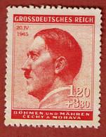Deutsches Reich Bohmen Und Mahren 1945 To Identify MNG - Non Classificati