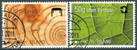 IJSLAND 2011 Europazegels Serie GB-USED. - Gebraucht