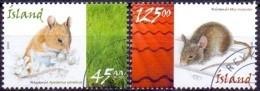 IJsland 2005 Muizen GB-USED. - Gebraucht