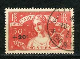 FRANCE - POUR L'ART ET LA PENSÉE - N°Yt 329 Obli - Used Stamps