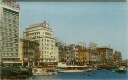 HONG KONG - WATER FRONT VIEW - EDIT PHOTOGRAFIC CO.- 1950s (BG10590) - China (Hong Kong)