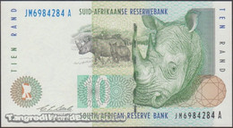 TWN - SOUTH AFRICA 123a - 10 Rand 1989-1999 Series JM XXXXXXX A - Signature: Stals UNC - South Africa