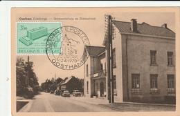 Oostham :  Gemeentehuis En Statiestraat ( Met Speciale Afstempeling 1970 ) - Ham