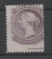 Nova Scotia, Used, 1860, Michel 6 - Usados
