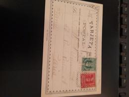 CP AFFR 1907  TREMBLEMENT  DE TERRE DE VALPAREISO - Chili