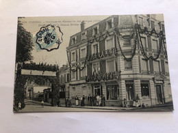 CORBEIL—Concours De Manœuvre Des Pompes 1906 Décoration De La Maison Martin - Corbeil Essonnes