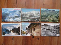 Lot De 6 Cartes De Courchevel     ( Savoie 73 ) - 5 - 99 Postales