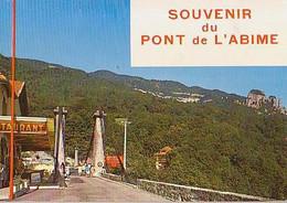 Savoie        H758        CUSY.Souvenir Du Pont De L'Abime - Otros Municipios
