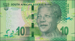 TWN - SOUTH AFRICA 138b - 10 Rand 2016 Series KR XXXXXXX A - Signature: Kganyago UNC - South Africa