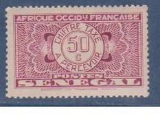 SENEGAL                N° YVERT  :  TAXE 27     NEUF SANS GOMME        ( S G     2 / 12 ) - Postage Due