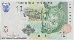 TWN - SOUTH AFRICA 128b - 10 Rand 2009-2014 Series CB XXXXXXX A - Signature: Marcus UNC - South Africa