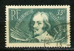 FRANCE -  CALLOT - N° Yvert 381 Obli. - Gebraucht
