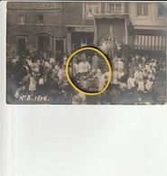 Sint-Truiden : Misviering Onder Oorlog 1914 ??? Afstempeling St-Truiden ----fotokaart ? - Sint-Truiden
