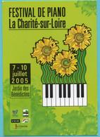 [58] Nièvre > La Charité Sur Loire Festival De Piano - La Charité Sur Loire