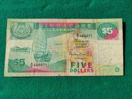 Singapore 5 Dollars 1989 - Singapore