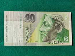 Slovacchia 20 Korun 1993 - Slovakia