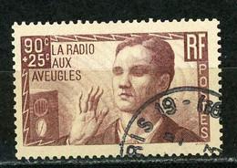 FRANCE -  LA RADIO AUX AVEUGLES - N° Yvert 418 Obli. - Gebraucht
