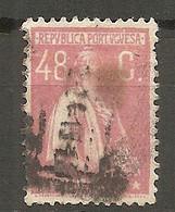 PORT - Yv. N°  285   (o)  48c, Rose  Cérès  Cote  5 Euro BE R 2 Scans - Usado