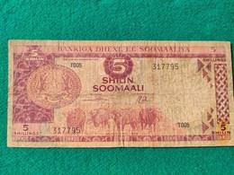 Somalia 5 Shilin 1978 - Somalia