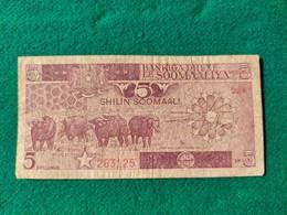 Somalia 5 Shilin 1987 - Somalia
