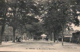 Nantes - Le Boulevard Du Petit Port, Attelages - Phototypie Vasselier - Carte N° 93 - Nantes