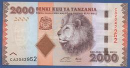 TANZANIA - P.42a – 2.000 SHILLINGS ND (2010-2020) - UNC Prefix CA - Tanzania