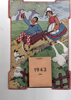 Calendrier Illustré Humour 1943 - Programs
