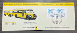 (5111) GERMANY 1997 : Mi# 1942 (2x) - COMMEMORATIVE CARD - VF - Bussen