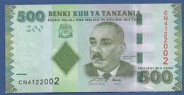 TANZANIA - P.40 – 500 SHILLINGS ND 2010 - UNC Prefix CN - Tanzania