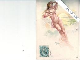 Illustrateur Deloys, Nu, Lle Matin - Andere Illustrators