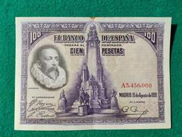Spagna 100 Pesetas 1928 - 100 Pesetas