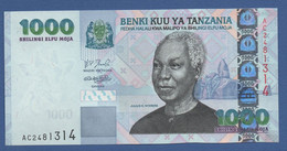TANZANIA - P.36 – 1.000 SHILLINGS ND 2003 - UNC Prefix AC - Tanzania