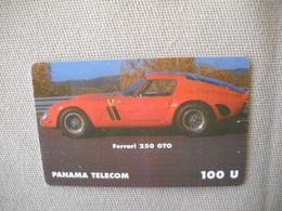 6867 Télécarte Collection  VOITURE FERRARI 250 GTO PANAMA     (scans Recto Verso)  Carte Téléphonique - Voitures