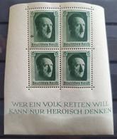 Deutsches Reich 1937, Herzstück Block 7 Mi 646 MNH Postfrisch - Nuevos