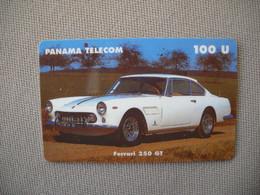 6868 Télécarte Collection  VOITURE FERRARI 250 GT PANAMA     (scans Recto Verso)  Carte Téléphonique - Voitures