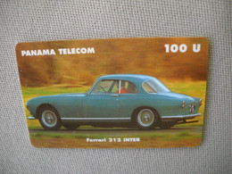 6869 Télécarte Collection  VOITURE FERRARI 212 INTER PANAMA     (scans Recto Verso)  Carte Téléphonique - Voitures