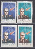 Vietnam Nord 1961 -2nd Space Flight By German Titov, Mi-Nr. 181/82, Perf.+imperf., MNH** - Vietnam