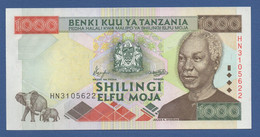 "TANZANIA - P.34 – 1.000 SHILLINGS ND 2000  ""President Nyerere"" Issue - UNC Prefix HN - Tanzania"
