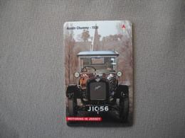 6872 Télécarte Collection  VOITURE  AUSTIN CHUMMY 1926 JERSEY    (scans Recto Verso)  Carte Téléphonique - Voitures