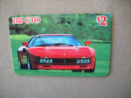 6873 Télécarte Collection  VOITURE FERRARI 288 GTO    (scans Recto Verso)  Carte Téléphonique - Voitures