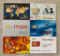 6 Mint GSM / SIM Austria - Oostenrijk