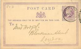 UK. CP P 1 B (Mi) Northampton > London  3/11/71 - Poststempel
