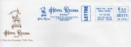 EMA HAVAS BLEUE  - JEANNE D'ARC A CHEVAL - HOTEL REGINA - Unclassified