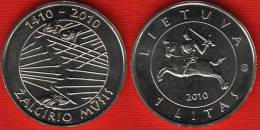 "Lithuania 1 Litas 2010 Km#172 ""Battle Of Grunwald"" UNC - Lithuania"