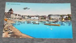 Lausanne - Ouchy ::: Suisse - Animation Avion - Aviation - Bateaux ----------- Alb 3 - 1939-1945: 2nd War