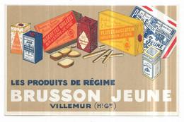 Villemur Sur Tarn Publicité Brusson Jeune - Autres Communes